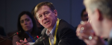 Gov. John Hickenlooper talks with USDA officials in 2012. (Photo/ Flickr Creative Commons)