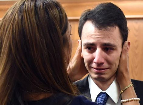 Ian Scheuermann was found not guilty on Oct. 21 in the stabbing death of Sean Hudson. Boulder Daily Camera photo by Cliff Grassmick.